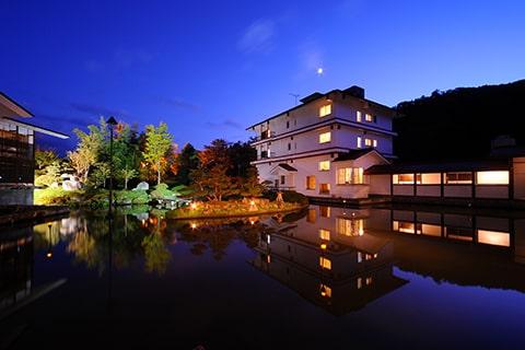 小野川温泉 河鹿荘 山形県