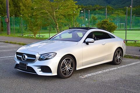 【E 450 4MATIC Coupé Sports】の愛犬旅適正度に中村が迫る!